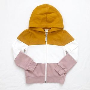 H&M girls colour-block hoodie